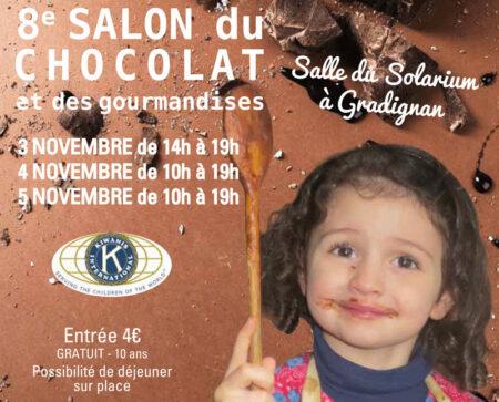 Fréderic Joseph participe au 8ème salon du chocolat