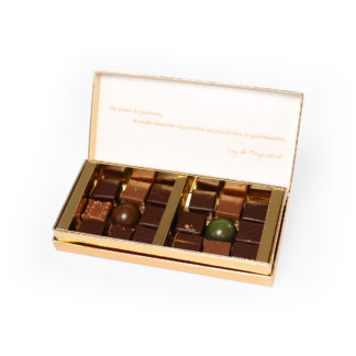 Coffret citation 18 chocolats - Chocolaterie Joseph