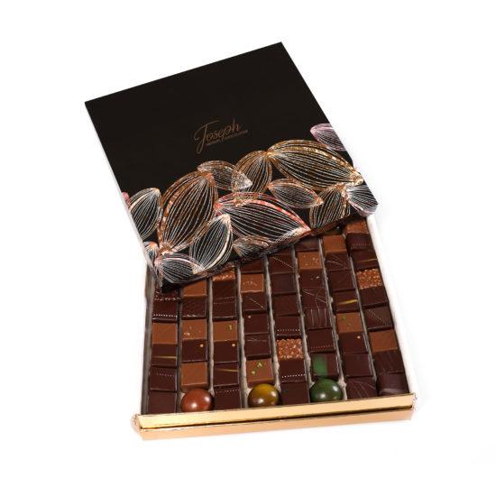 Coffret Prestige 72 chocolats - Chocolaterie Joseph