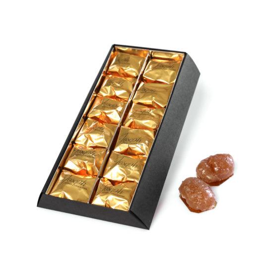 Coffret de 12 marrons glacés - Chocolaterie Joseph