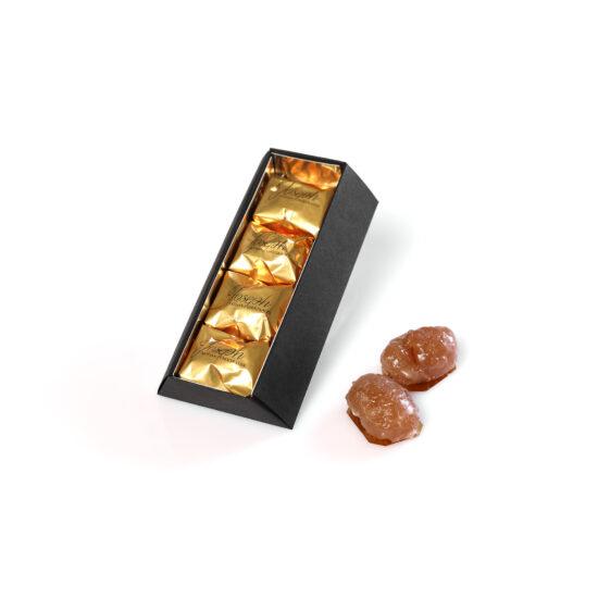 Coffret de 4 marrons glacés - Chocolaterie Joseph