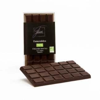Tablette chocolat noir Bio Esmeraldas