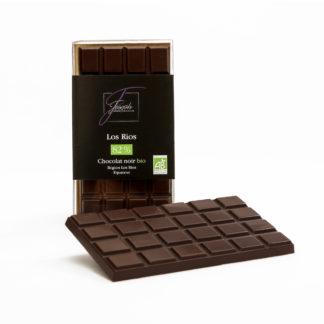 Tablette de chocolat noir Bio Los Rios