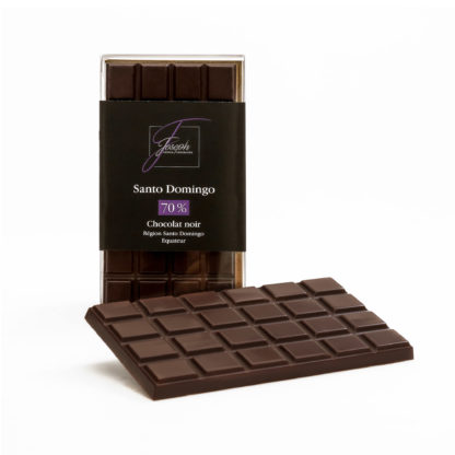 Tablette Santo Domingo chocolat noir Bio