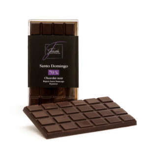 Tablette Santo Domingo chocolat noir 70%
