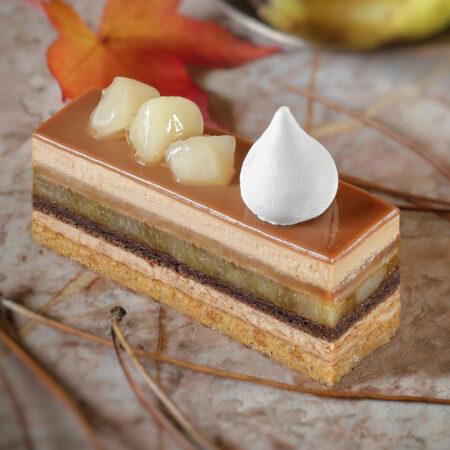 Entremets Chocolat Poire Caramel «Trouville»