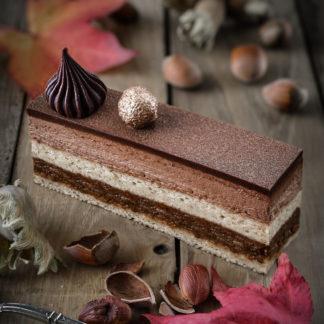 Entremets Croustillant Chocolat Praliné «Royal»