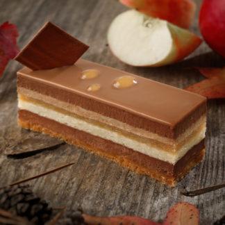 Pâtisserie Chocolaterie Joseph - entremet pomme chocolat Deauville